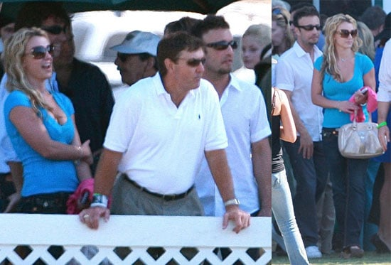 Photos of Britney Spears at Team Spears Polo Match