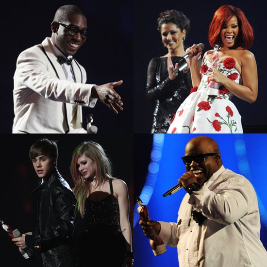 Full List of 2011 Brit Awards Winners Including Rihanna, Justin Bieber, Cee Lo Green, Tinie Tempah, Take That, and More