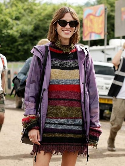 Alexa Chung Pulled Off This Tricky Trend at Glastonbury