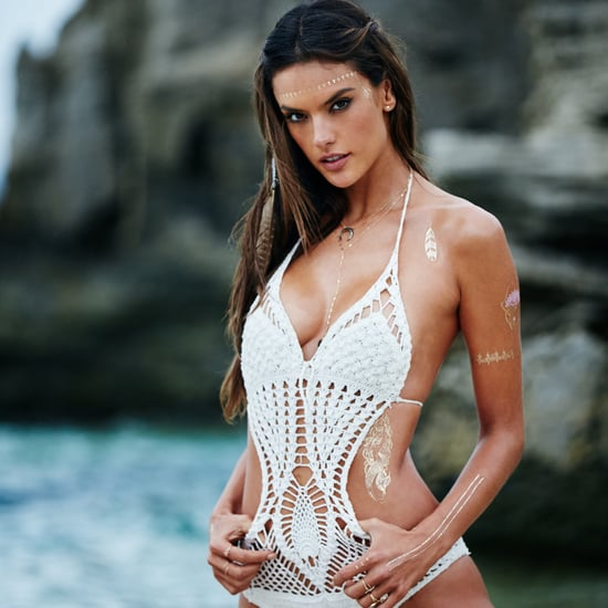 Alessandra Ambrosio's Line of Flash Tattoos