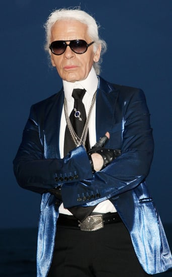 Karl Lagerfeld Hates Swans, Borscht, and Cell Phones, But Likes Naomi Campbell's Boyfriend