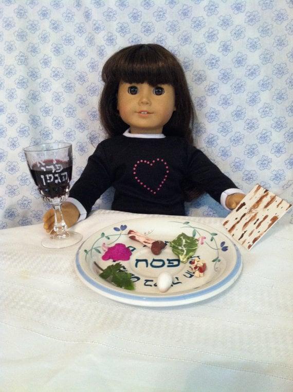 Doll Seder Set