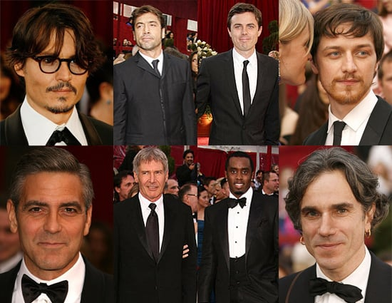 Red Carpet Arrivals At The Oscars 2008