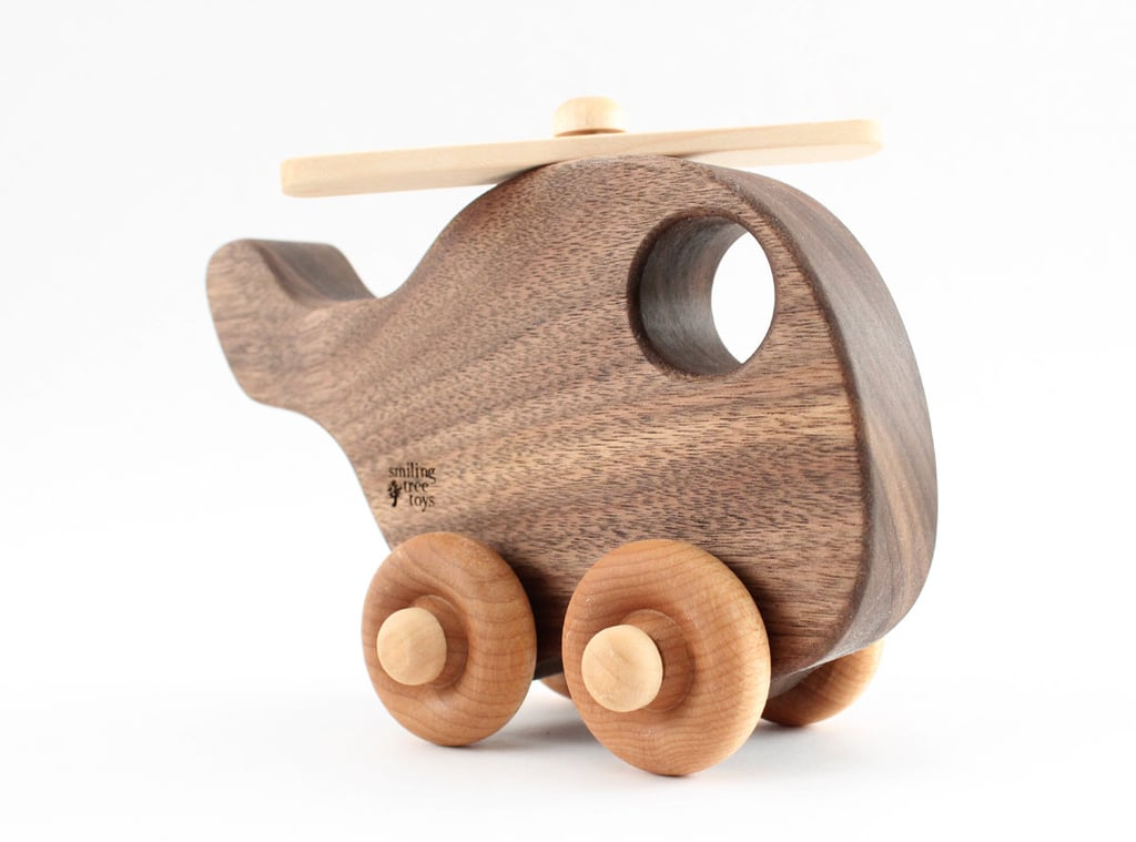 Organic Wood Toy Helicopter ($22)
