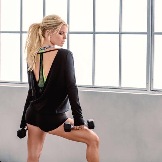 Jessica Simpson Fitness Line | The Warm Up