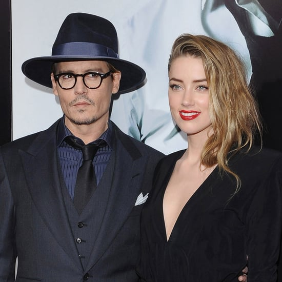 Johnny Depp Talks About Fiancee Amber Heard