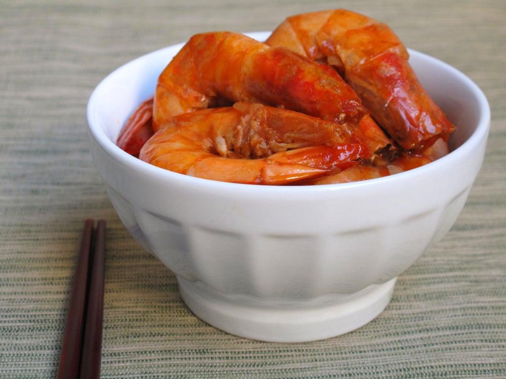 Garlic-Soy Shrimp