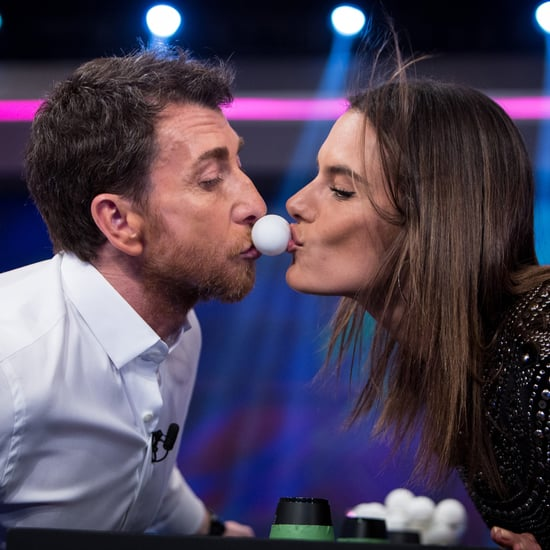 Alessandra Ambrosio on El Hormiguero April 2016