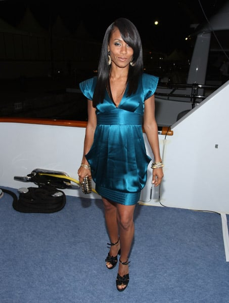 Jada Pinkett Smith Rocking Out in Cannes
