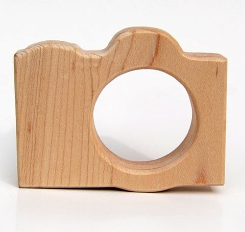 Little Sapling Toys Camera Teething Toy ($15)