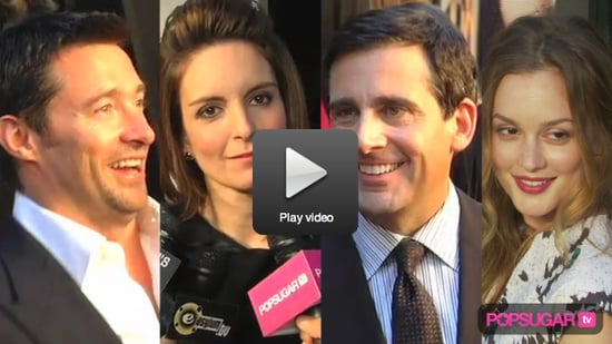 Tina Fey and Steve Carell Talk Mark Whalberg's Abs and Their TV Characters' Love Match at Date Night Premiere!