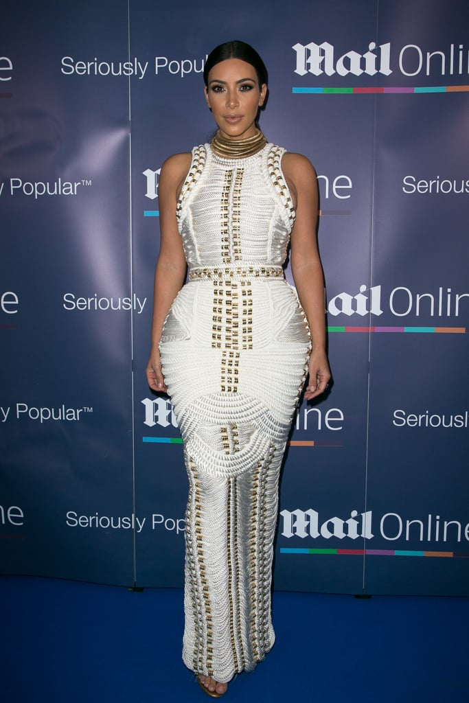 Kim Kardashian at the MailOnline Cannes Party