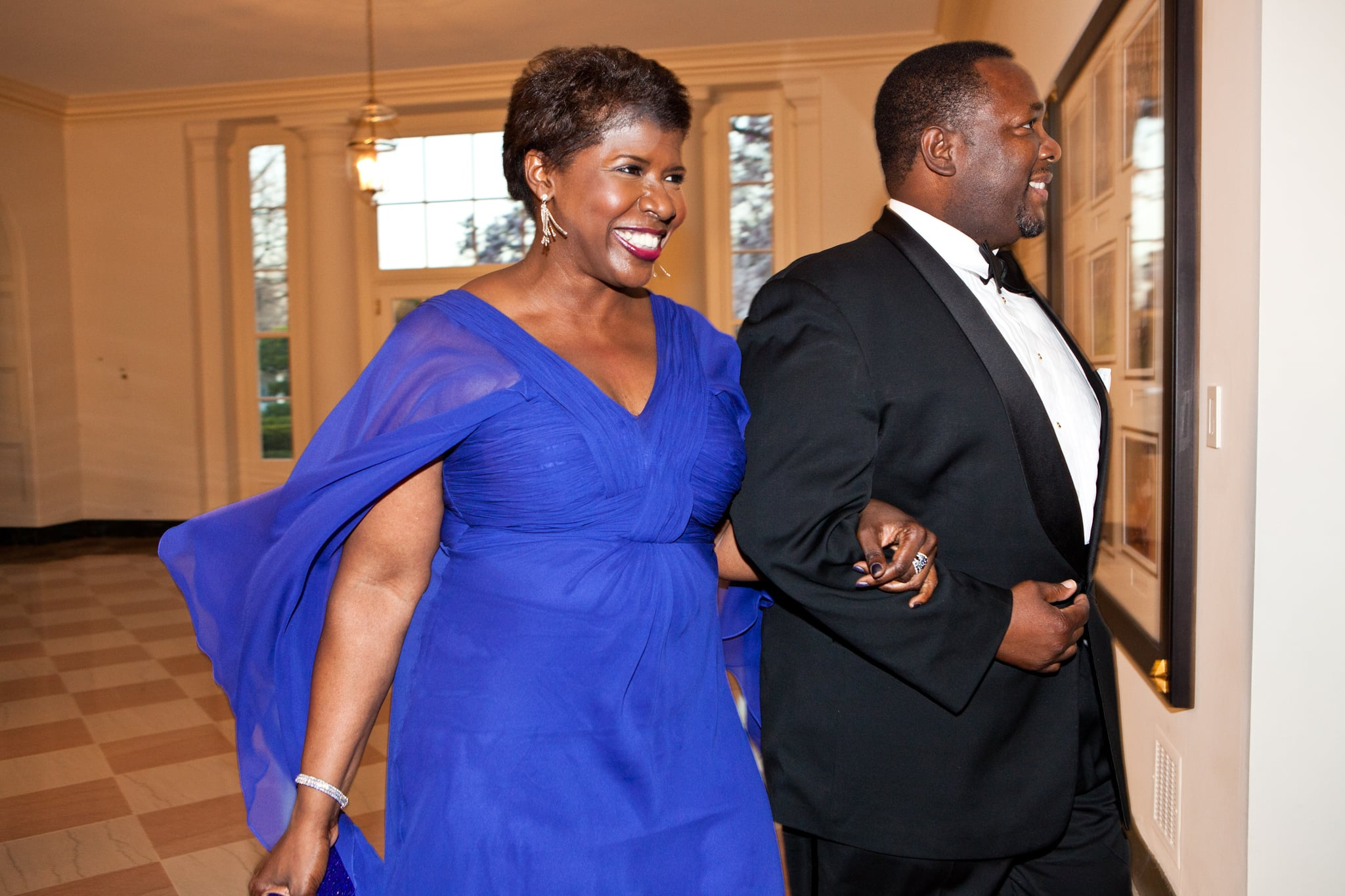 Gwen Ifill  The 6 Chicest Looks From Last Night39;s State Dinner