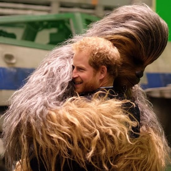 Prince Harry and Prince William Visit Star Wars Set Photos