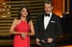 """""""Hold on, Clark Gable."""" — Julia Louis-Dreyfus, presenting with a mustachioed Bryan Cranston"""
