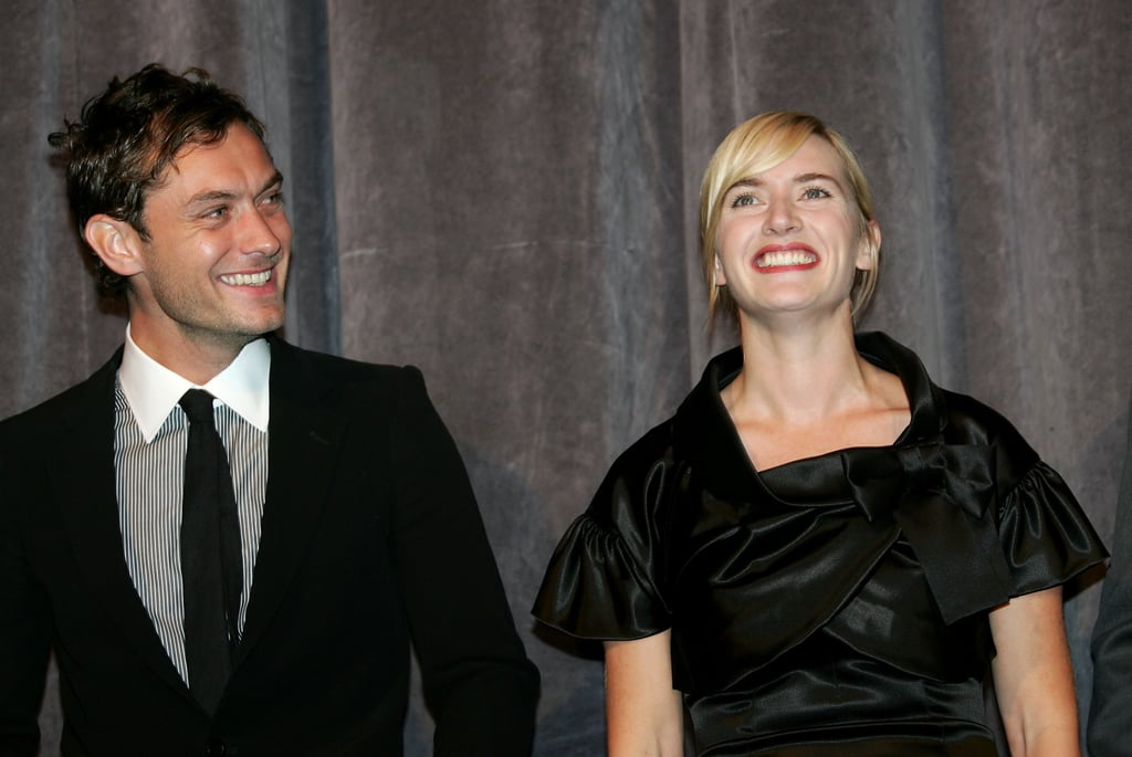Jude Law and Kate Winslet teamed up at the 2006 screening of All The King's Men.
