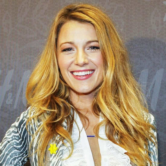 Blake Lively at H&M New Orleans Masquerade
