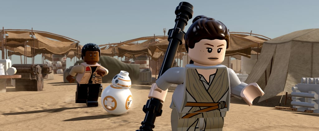 Check Out This Video of Rey in the Lego Star Wars: The Force Awakens Game