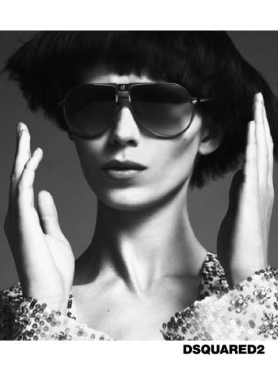 Monika Sawicka for DSquared2, by Mert Alas and Marcus Piggott