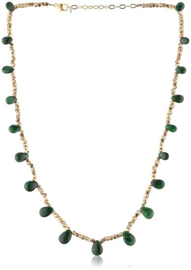 Amanda Rudey Divas and Heroines Emerald Zeena Necklace - designer shoes, handbags, jewelry, watches, and fashion accessories   e