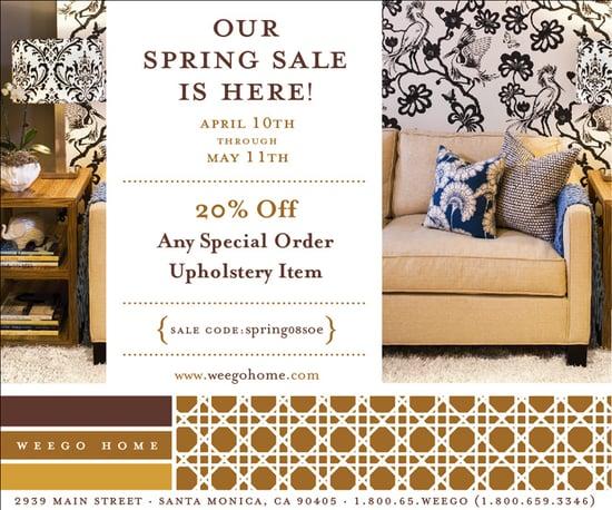 Sale Alert: Weego Home Spring Upholstery Sale