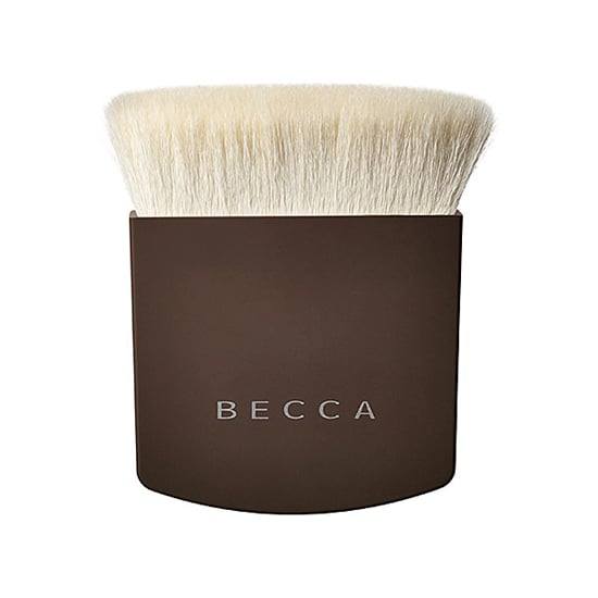 Everyone can benefit from more defined cheekbones, and while the Becca The One Perfecting Brush ($49) is touted to replace 10 different brushes, my favorite use is for contouring. The flat rectangular top fits right into the groove under cheeks, taking the confusion out of contouring. Plus the goat hair bristles are nonporous, so the brush won't soak up all your makeup before you can get it on your face. — JC