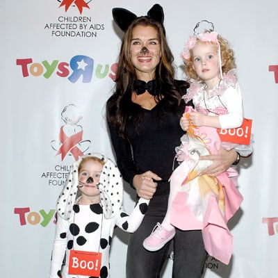 Brooke Shields and Daughters Out in NYC