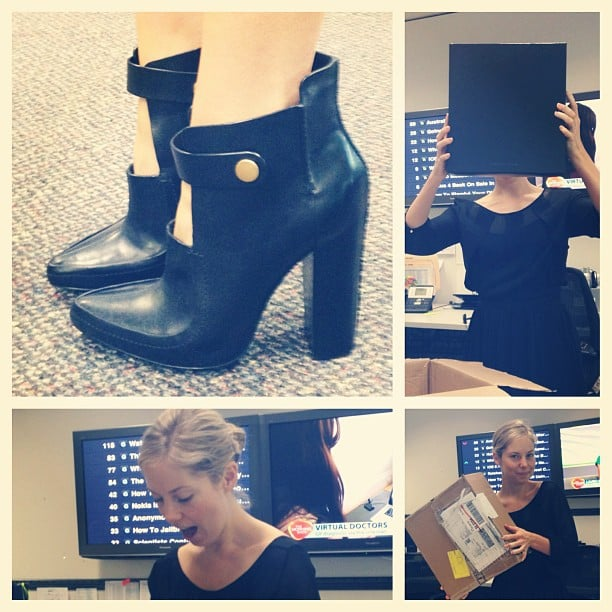 Can you tell Ali's been on a bit of a spending spree? She scored these Alexander Wang boots for a criminally low price — naturally, she had to buy them.