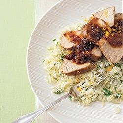 Fast & Easy Dinner: Pork Tenderloin With Onion Marmalade