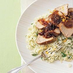 Fast & Easy Dinner: Pork Tenderloin With Onion Marmalade