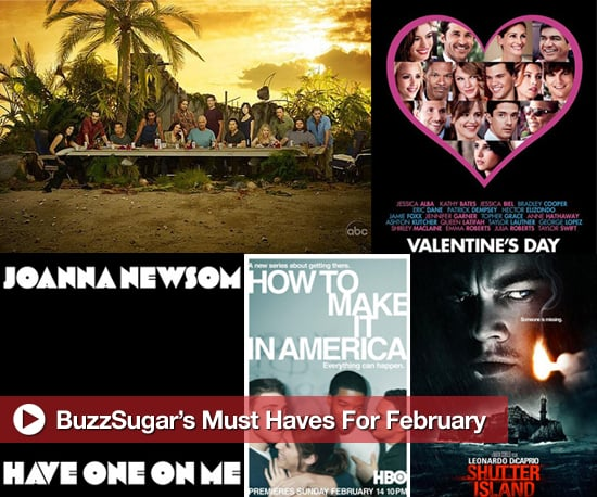 Entertainment Releases For February 2010