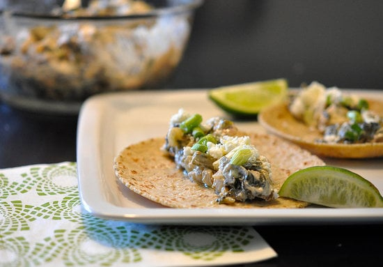 Chicken and Vegetable Tacos