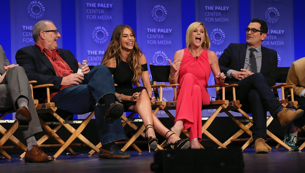 Hilarious stars of Modern Family — Ed O'Neill, Sofia Vergara, Julie Bowen, and Ty Burrell — brought on the laughs at PaleyFest on Saturday.