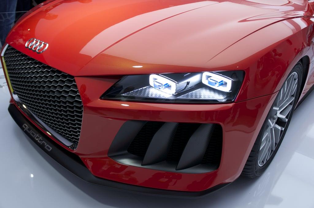 Audi — Laser-Light Headlamps
