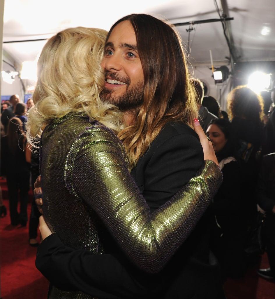 Jared hugged Rita.