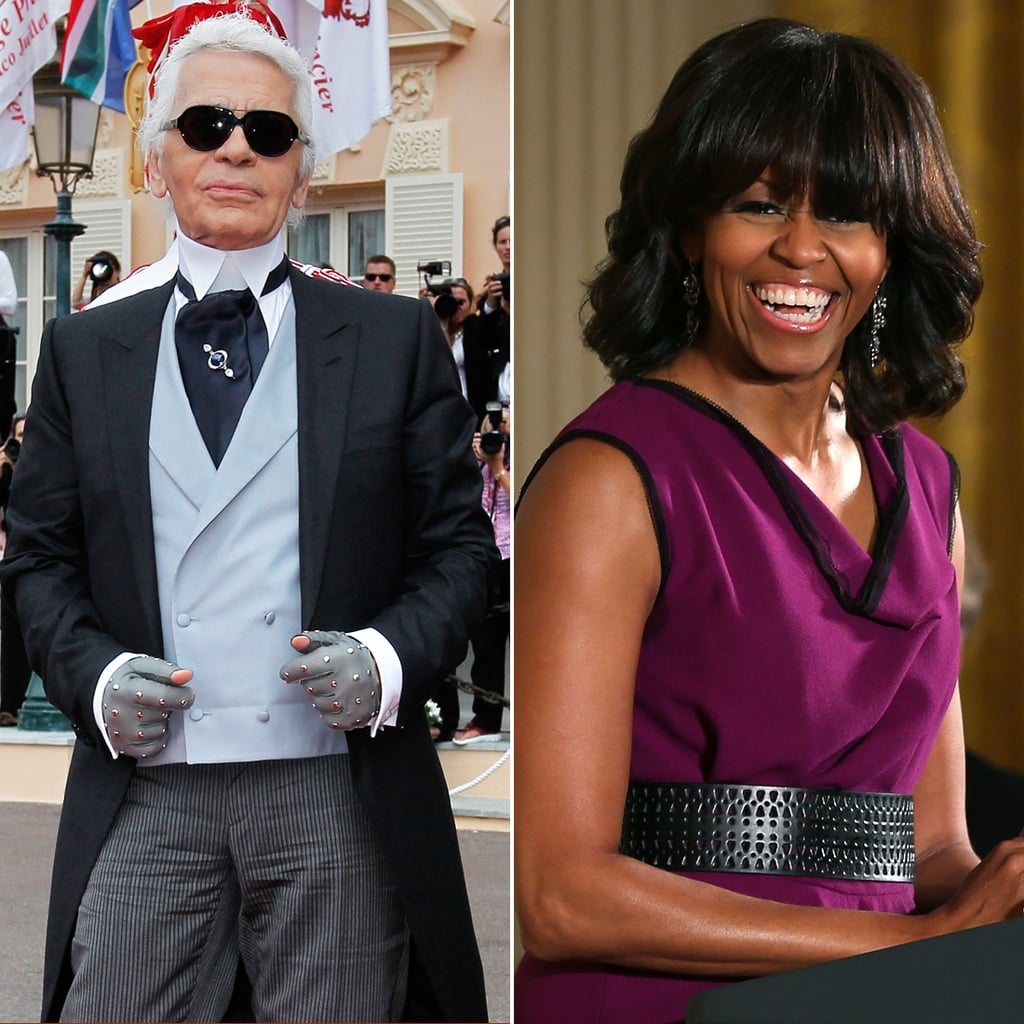 Karl on Michelle Obama's Bangs