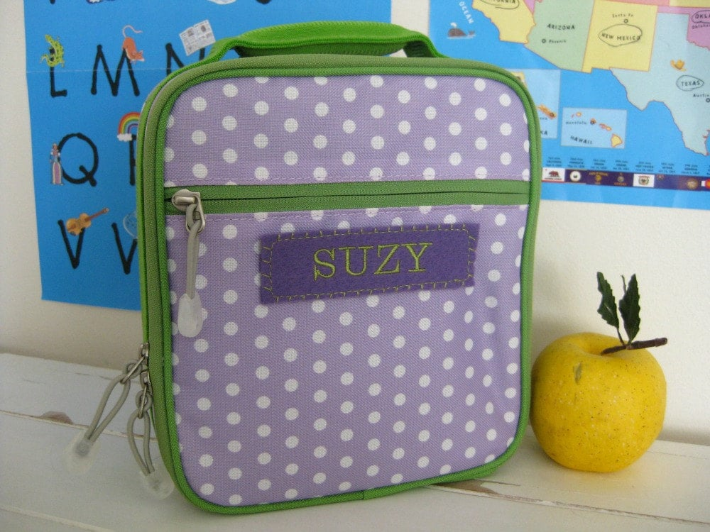 Kid's Personalized Lunch Box