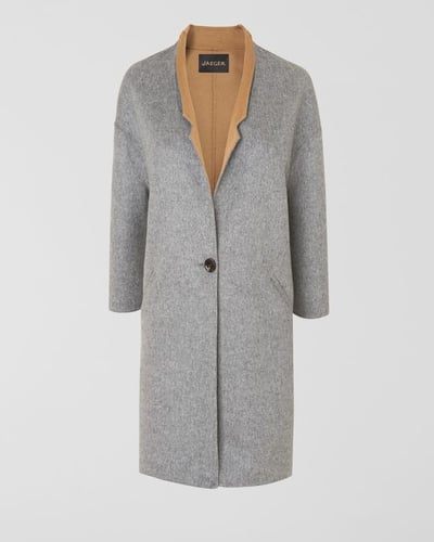 Double Faced Mid Length Coat