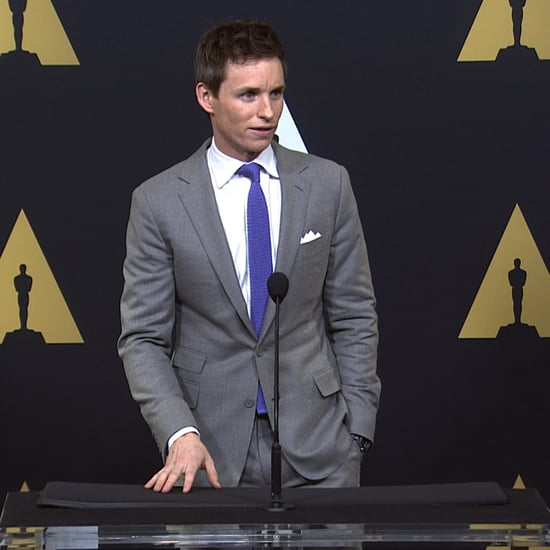 Eddie Redmayne Talks About Trans Issues