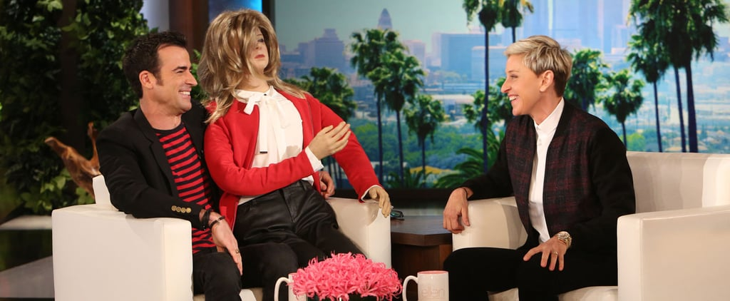 Justin Theroux Talks About His Wedding to Jennifer Aniston, Gets a Hilarious Gift From Ellen