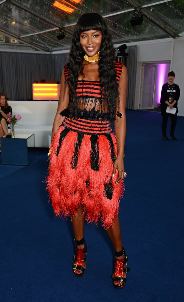 Naomi Campbell at the Glamour Women of the Year Awards