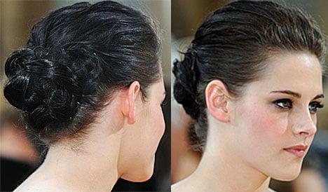Kristen Stewart Oscars 2010 Hair Pictures and Tutorial