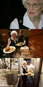 88-Year-Old Waitress Gives Tips on Her Secret to Success