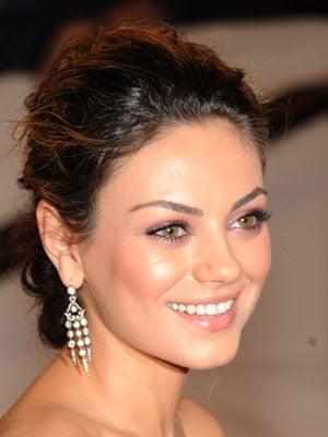 Mila Kunis at 2010 Costume Institute Gala