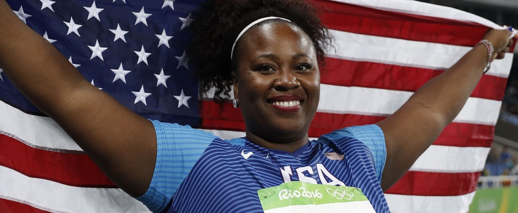 This Powerhouse, 210-Pound Olympian Wants Women to Know Strong Is Beautiful