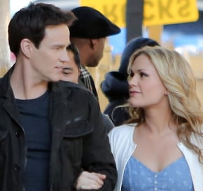 True Blood's Anna Paquin and Stephen Moyer Film With Diddy