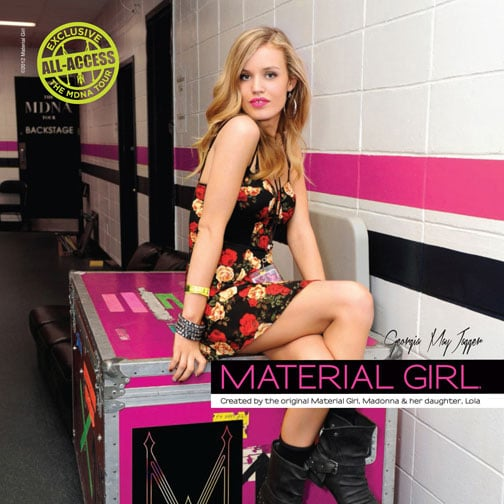 New Material Girl Campaign With Georgia May Jagger (Pictures)