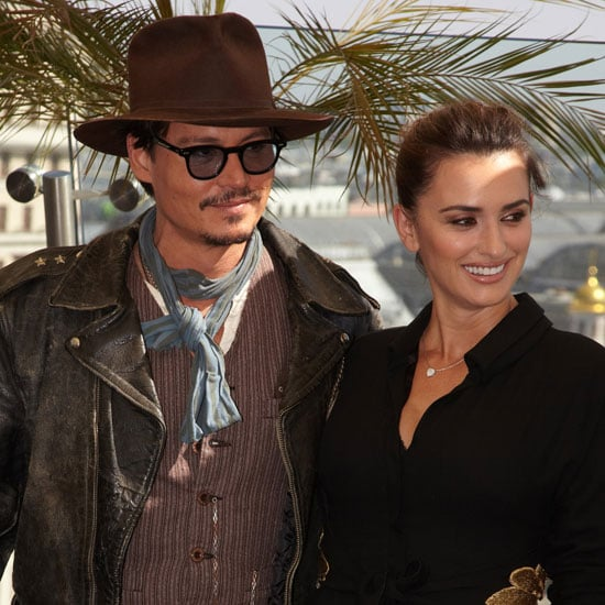 Penelope Cruz and Johnny Depp Pictures at a Pirates of the Caribbean Photo Call in Russia