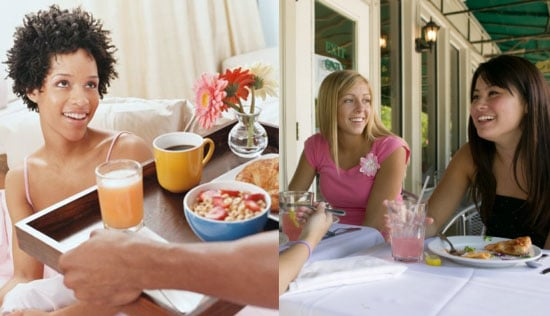 Would You Rather Have Breakfast in Bed or Brunch at Your Favorite Restaurant?