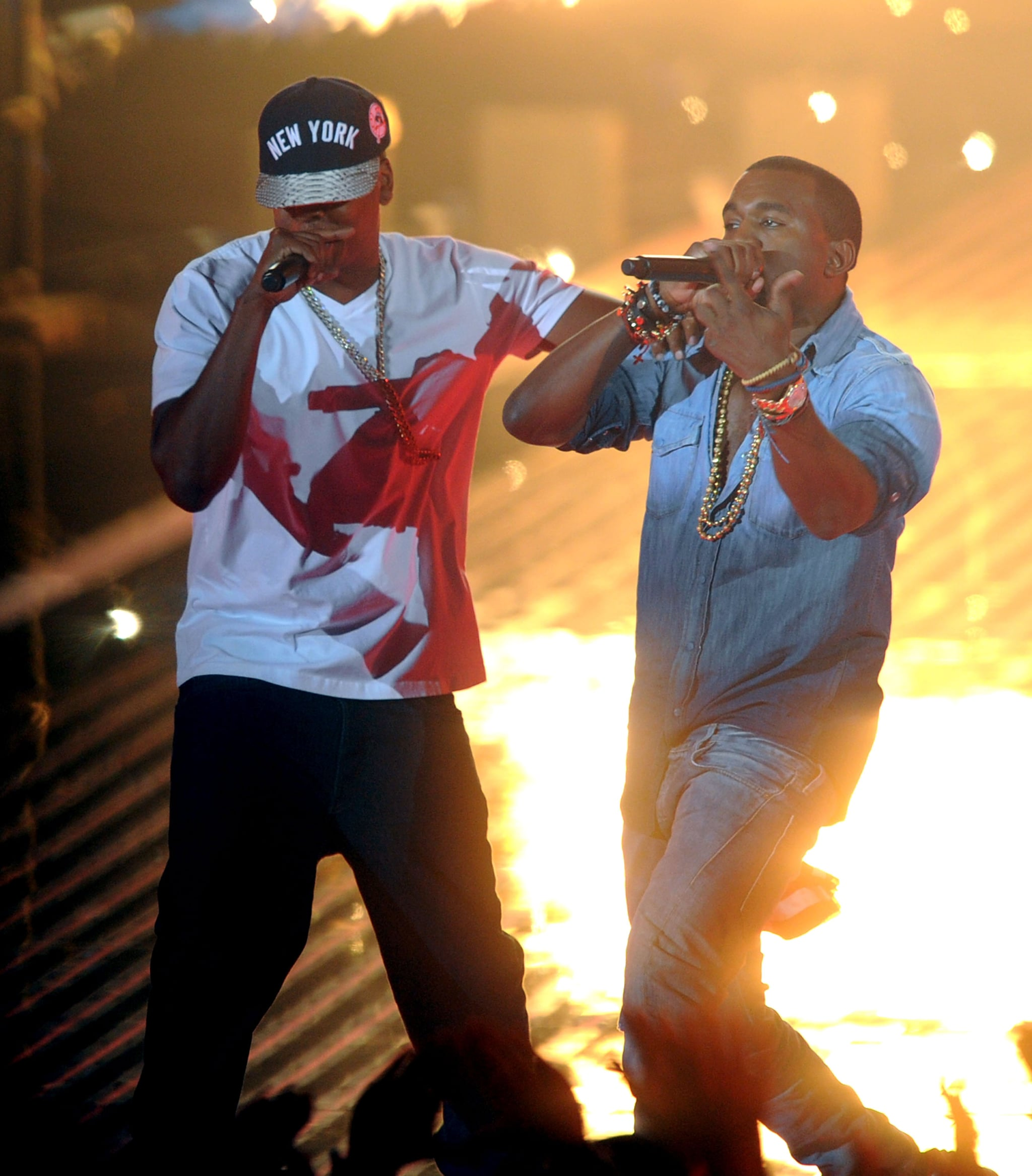 Jay Z and Kanye West